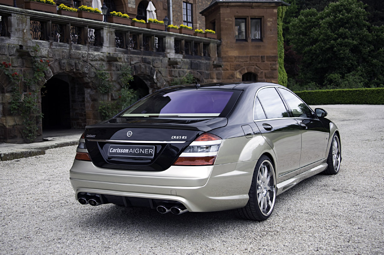 Mercedes carlsson aigner ck65 rs blanchimont a day in for Mercedes benz carlsson
