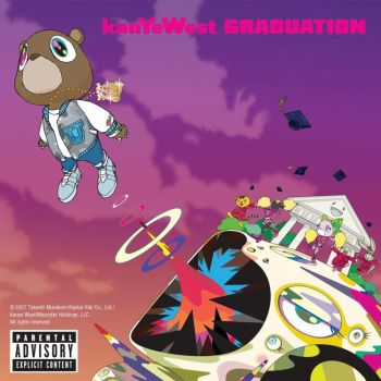 kanye west graduation album cover art. And as the Album Cover