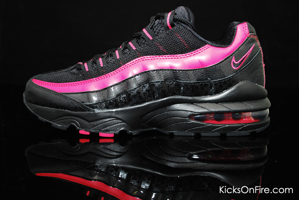 NIKE AIR MAX 95 LIMITED EDITION (GS) Black/Black-Berry Size 7Y