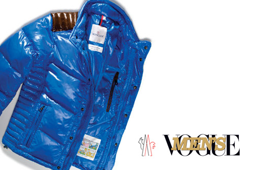 Men's Vogue x Moncler Austin Down Ski Jacket Charity | Jayev3ryday's Blog