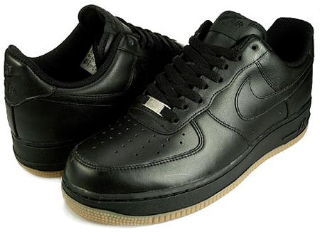 Nike Air Force 1 Low Black Gum