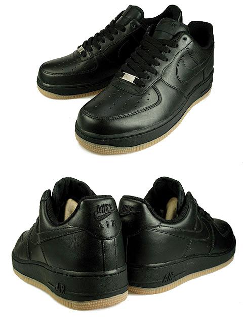 black air force ones low