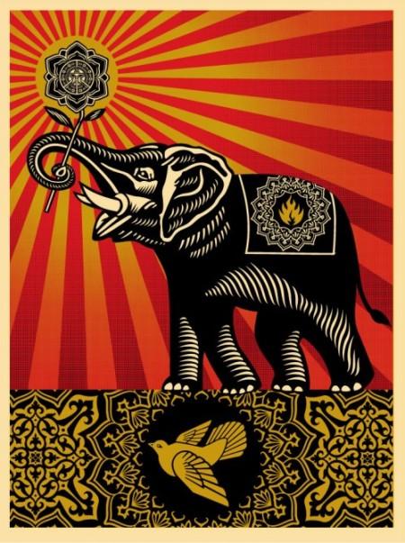 obey_elephant_print