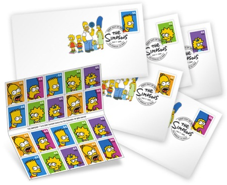 simpsons-usps-stamps