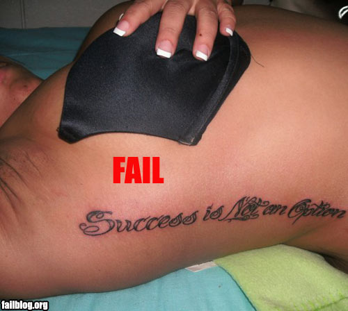 failownedsidetattoofail SMH Do you think she noticed during or after